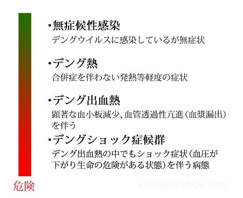 デング熱の病態分類