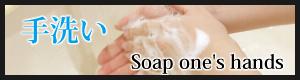感染予防の基本は手洗いから